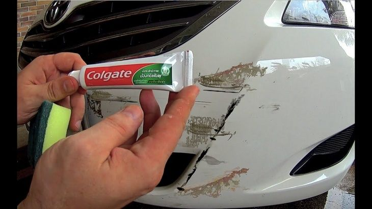 Car Bumper Scratches